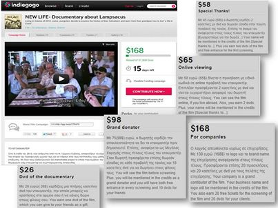 Χάρη στη βοήθεια σας, κατάφεραμε να συγκεντρώσουμε τα χρήματα για την ολοκλήρωση του ντοκιμαντέρ. Ευχαριστούμε όλους όσους συνέβαλαν!
